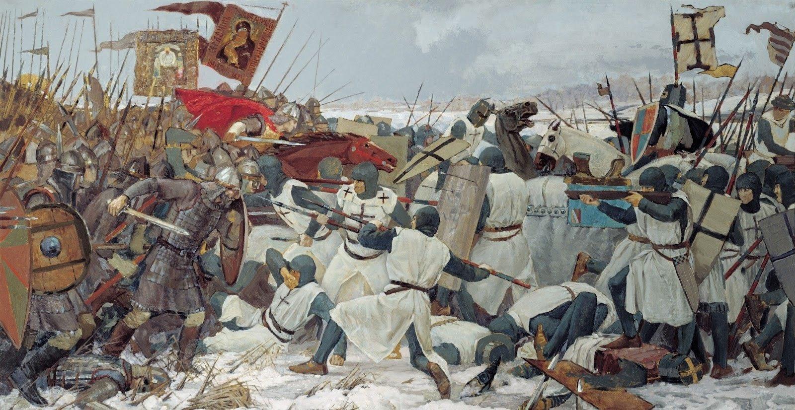мифы о ледовом побоище ледовое побоище битва на чудском озере отвратительные мужики disgusting men