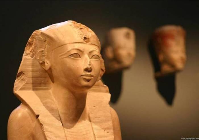 Скульптурное изображение женщины-фараона Хатшепсут | Фото: my-facts.ru