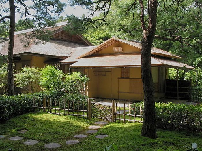 Чайный домик храма Исэ